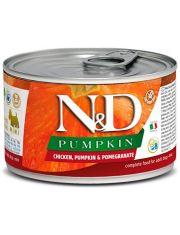 N&D PUMPKIN Chicken, Pumpkin & Pomegranate Adult Mini беззерновой для взрослых собак мини пород с тыквой, курицей и гранатом