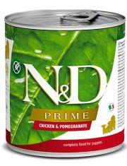 N&D PRIME Chicken & Pomegranate puppy беззерновой корм  с курицей и гранатом для щенков всех пород