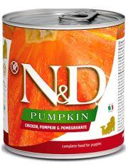 N&D PUMKIN Chicken, Pumpkin & Pomegranate Puppy беззерновой корм  с тыквой, курицей и гранатом для щенков, беременных и кормящих сук
