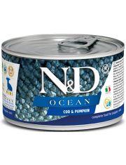 N&D OCEAN Cod & Pumpkin Puppy Mini беззерновой корм для щенков, беременных и кормящих собак, треска и тыква
