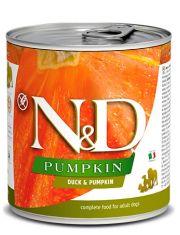 N&D PUMPKIN Duck & Pumpkin Adult беззерновой корм с уткой и тыквой, для взрослых собак всех пород