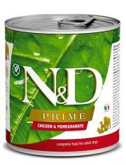 N&D PRIME Chicken & Pomegranate Adult беззерновой корм с курицей и гранатом для взрослых собак всех пород