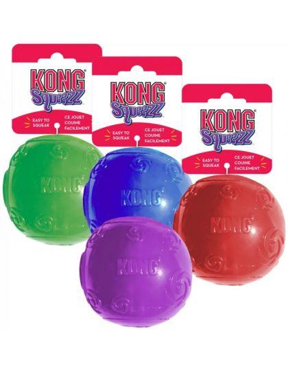 Игрушка для собак SQUEEZZ BALL с пищалкой