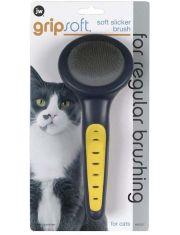 Grip Soft Cat Slicker Brush щетка-пуходерка для кошек