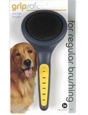 Grip Soft Slicker Brush Щетка-пуходерка для собак большая