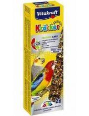Лакомство для средних попугаев, крекеры при линьке