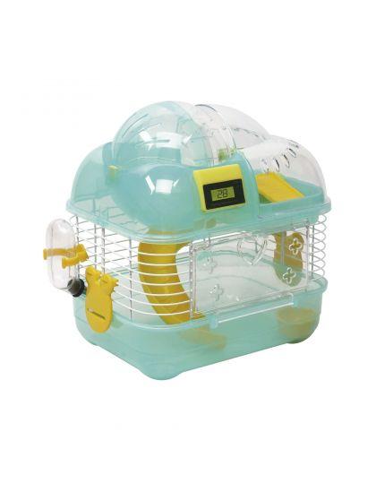 Клетка для хомяков и других мелких грызунов с компьютером M01B