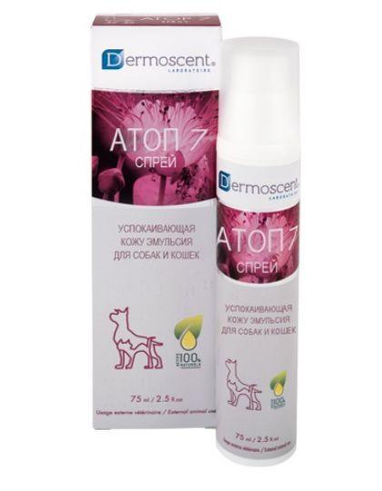 Атоп 7 спрей + для собак и кошек против зуда