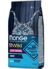 BWild LOW GRAIN низкозерновой корм из анчоуса для взрослых кошек