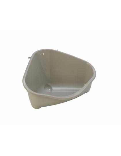 Туалет для грызунов угловой малый 18*12*9см