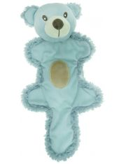 Игрушка для собак Мишка с хвостом, голубой