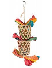 Игрушка на верёвке из натуральных материалов