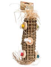 """""""Подвеска плетеная, большая"""" игрушка для птиц"""