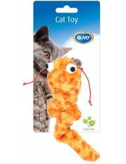 """Игрушка для кошек с кошачьей мятой """"Сомик"""", оранжевый"""
