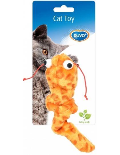 Игрушка для кошек с кошачьей мятой Сомик, оранжевый