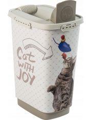 Радость Кошки контейнер для сухого корма