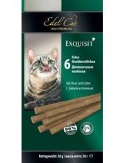 Edel Cat лакомство колбаски заяц/печень