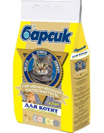 Наполнитель барсик для котят