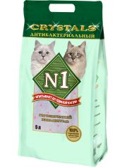 №1 Crystals силикагелевый антибактериальный наполнитель