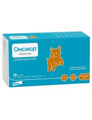 Онсиор таблетки 5 мг для собак с массой тела от 2,5 кг до 5 кг