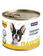Паштет из говядины и ягненка для собак всех пород «ЗДОРОВЫЕ СУСТАВЫ»