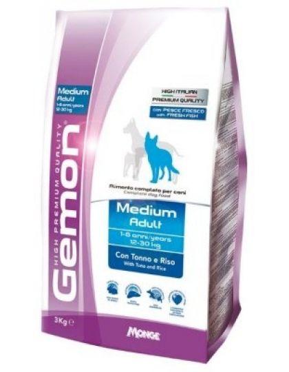 Dog Medium корм для взрослых собак средних пород тунец с рисом
