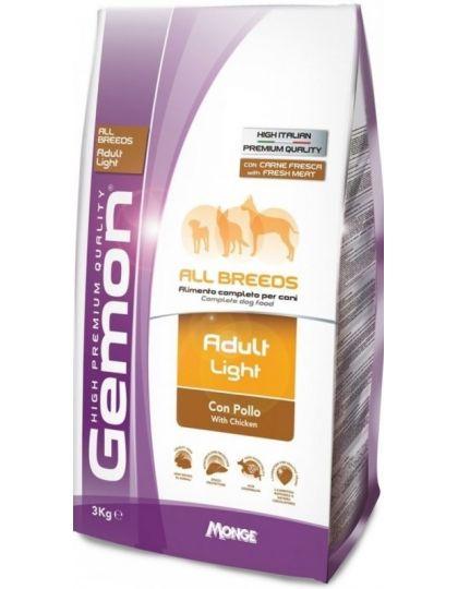 Dog Light низкокалорийный корм для взрослых собак всех пород