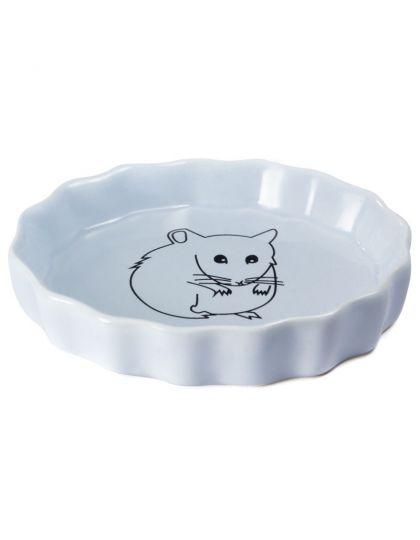 Миска керамическая для мелких животных Хомка