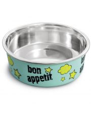 "Миска металлическая на резинке ""Bon Appetit"""