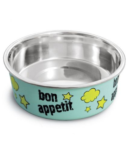 Миска металлическая на резинке Bon Appetit