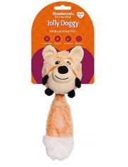 """Jolly Doggy Multi Activity """"Лиса"""" игрушка для собак с отключаемой пищалкой"""