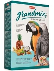 GrandMix pappagalli корм для крупных попугаев