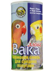 Люкс корм для средних попугаев