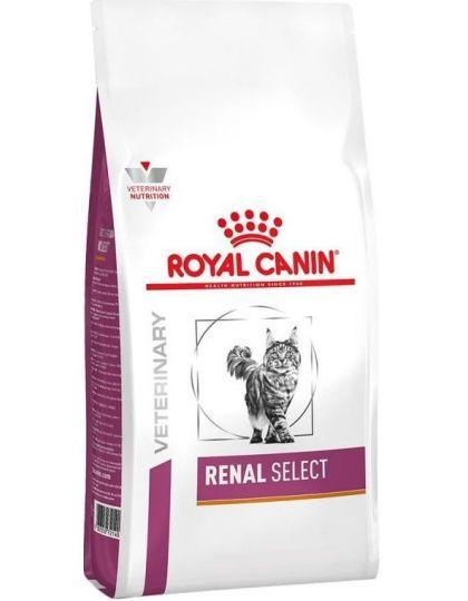 Renal Select (диета) для взрослых кошек с пониженным аппетитом для поддержания функции почек при острой или хронической почечной недостаточности