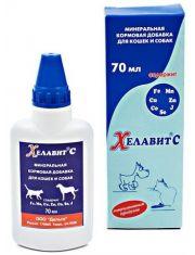 ХЕЛАВИТ кормовая минеральная добавка для собак и кошек