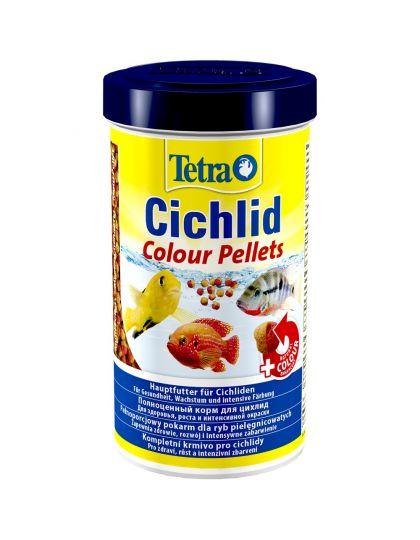 Tetra Cichlid Colour корм для любых видов цихлид, шарики