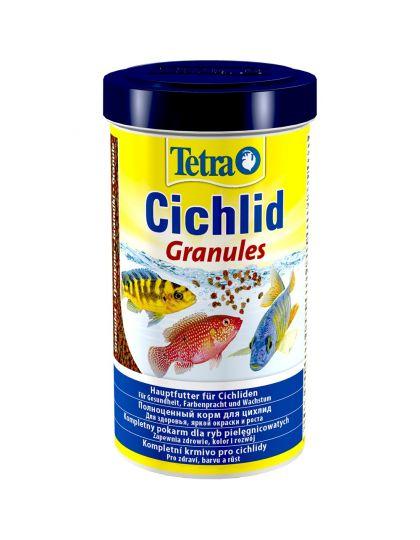 Tetra Cichlid Granules корм в виде гранул для средних цихлид