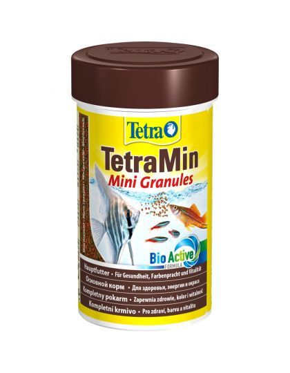 TetraMin Mini Granules корм универсальный мини-гранулы