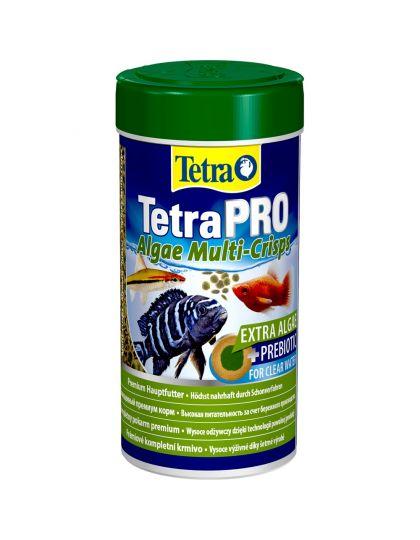 TetraPRO Algae Crisps корм для всех видов декоративных рыб в виде чипсов