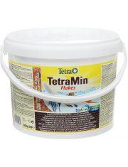 TetraMin корм для всех видов рыб в виде хлопьев (ведро)