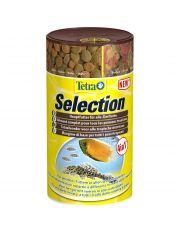 Tetra Selection 4 полноценных корма в 4 отдельных ячейках для рыб, питающихся в различных слоях воды