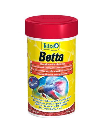 Tetra Betta для петушков и лабиринтовых рыб в хлопьях