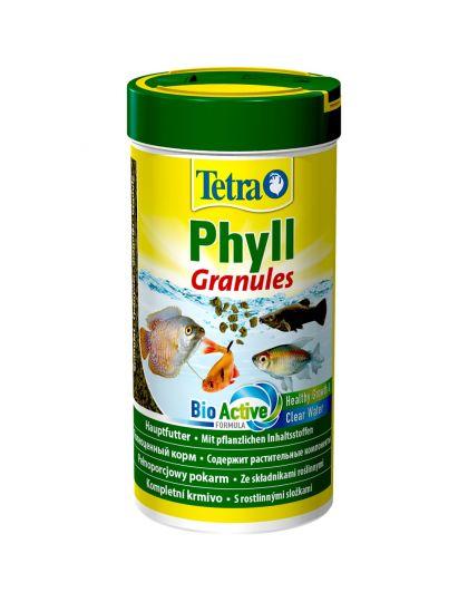 TetraPhyll Granules для всех травоядных рыб, гранулы