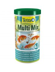 Tetra Pond Multi Mix смесь четырех видов кормов для всех видов  видов прудовых рыб