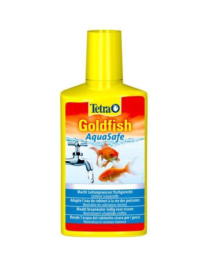 Tetra Goldfish AquaSafe для подготовки аквариумной воды для золотых рыбок