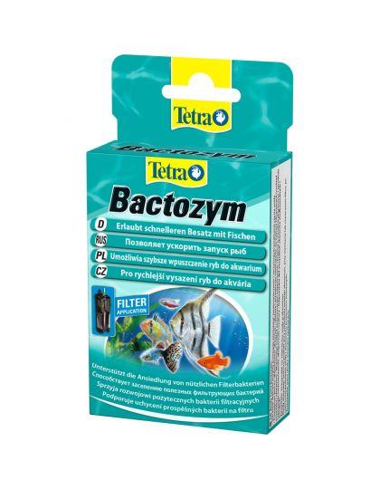 Tetra Bactozym средство для биологического запуска аквариума