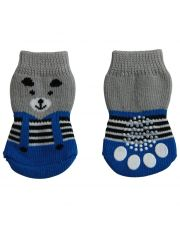 Носочки с изображением мишки в комбинезоне