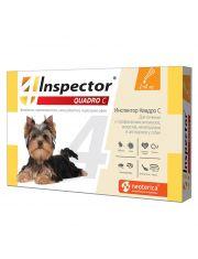 Inspector (Инспектор) Quadro C, капли для собак от 1 до 4 кг