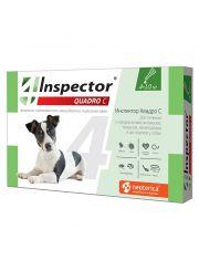 Inspector (Инспектор) Quadro C, капли для собак от 4 до 10 кг
