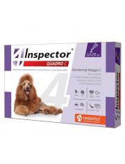 Inspector (Инспектор) Quadro C, капли для собак от 10 до 25 кг